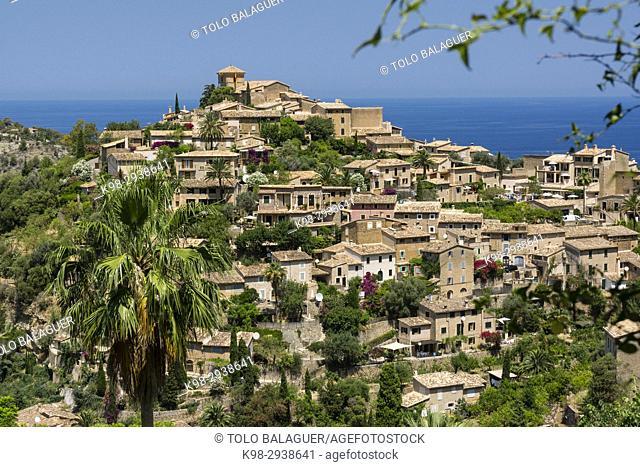 Deia, Sierra de Tramuntana, Mallorca, Balearic Islands, Spain