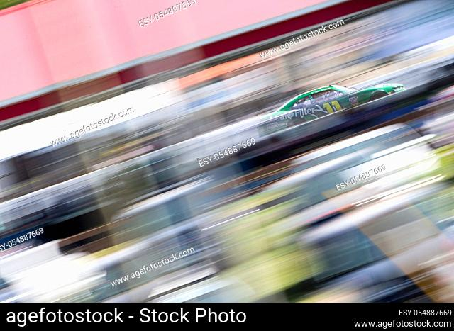 August 11, 2018 - Lexington, Ohio, USA: Ryan Truex (11) races off the turn during the Rock N Roll Tequila 170 at Mid-Ohio Sports Car Course in Lexington, Ohio