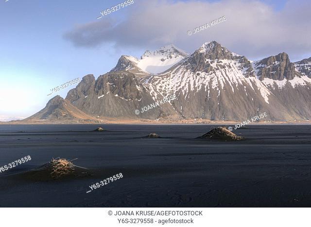 Stokksnes, Hornafjordur, Hofn, South Iceland, Iceland, Europe