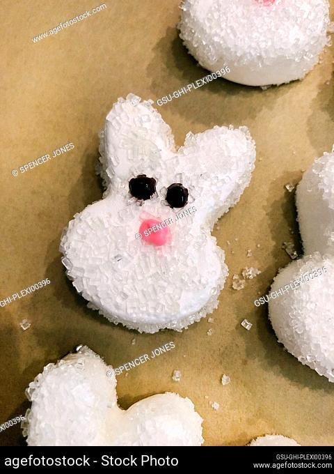 Homemade Easter Marshmallow Peeps