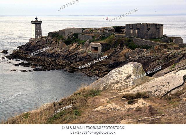 LIGHHOUSE OF LE CONQUET, IROISE SEA,FINISTERRE, BRETAGNE