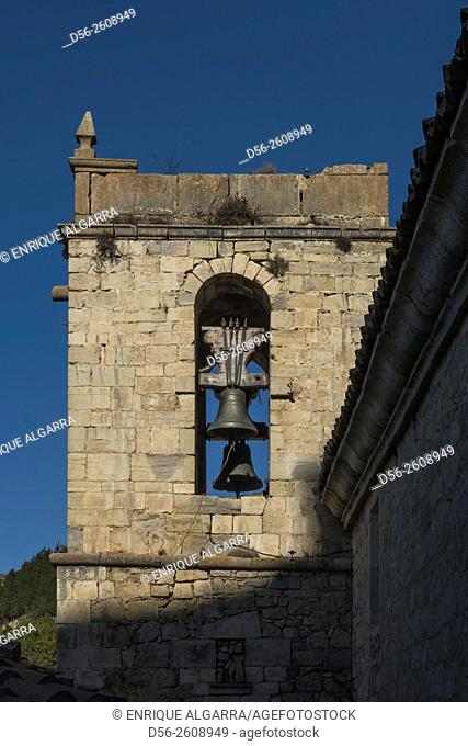 Bell Tower, Ares del Maestre, Castellon province, Spain