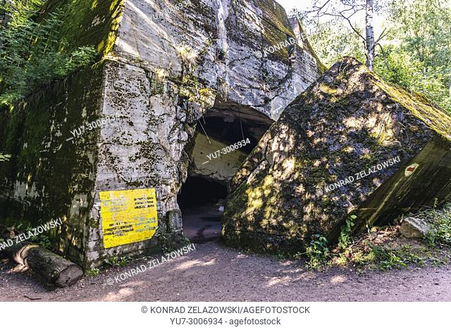 Bunker of Hermann Goering in Wolf's Lair - the headquarters of Adolf Hitler and Nazi Supreme Command of Armed Forces in WW2 near Gierloz, Poland