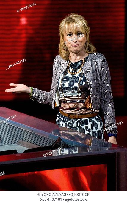 10 04 2011, Milan  'Che tempo che fa' telecast RAI 3  Luciana Littizzetto