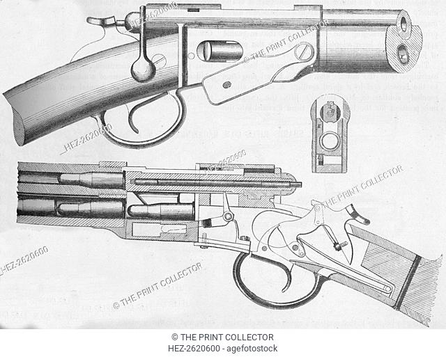 The Vetterli Magazine Rifle, 1884. Artist: Unknown