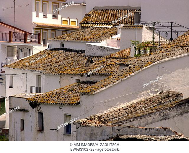 typical houses in Sayalonga, Costa del Sol, Spain, Andalusia