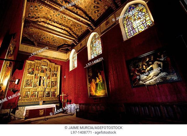 Chapel within the Alcazar of Segovia