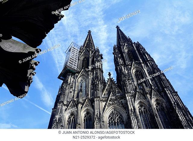Cathedral of Cologne, North Rhine-Westfalia. Germany, Europe