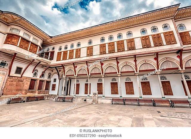 Ancient Ottoman residence Topkapi Palace Istanbul, Turkey