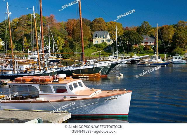 USA, Maine, Camden