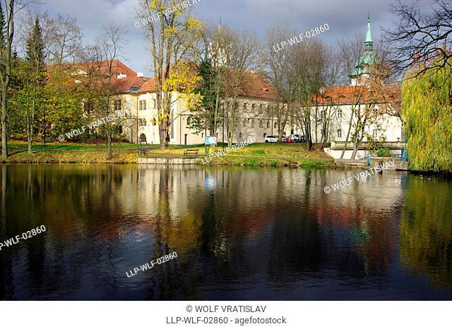 Teplice Chateau Pond, Usti nad Labem Region, Czech Republic