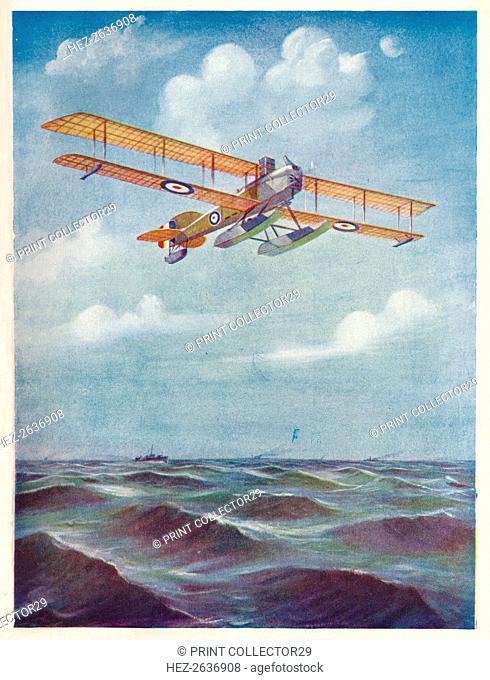 'The Eyes of the Fleet: A Short Seaplane', c1918 (1919). Artist: Geoffrey Watson