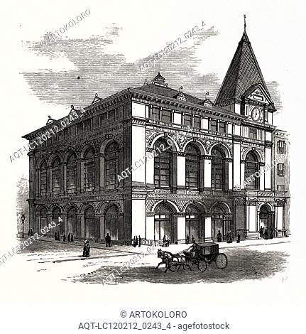 NEW BUILDING OF THE LONG ISLAND HISTORICAL SOCIETY AT BROOKLYN, TO BE OPENED JANUARY 4TH