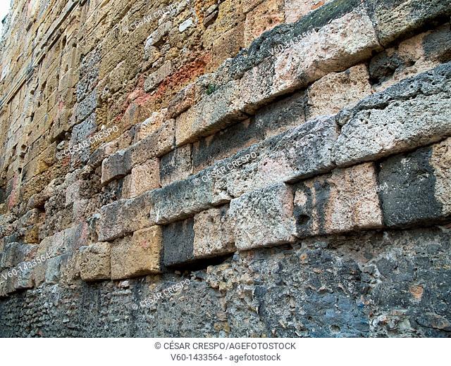 -Walls of Tarraco- Catalonian, Spain