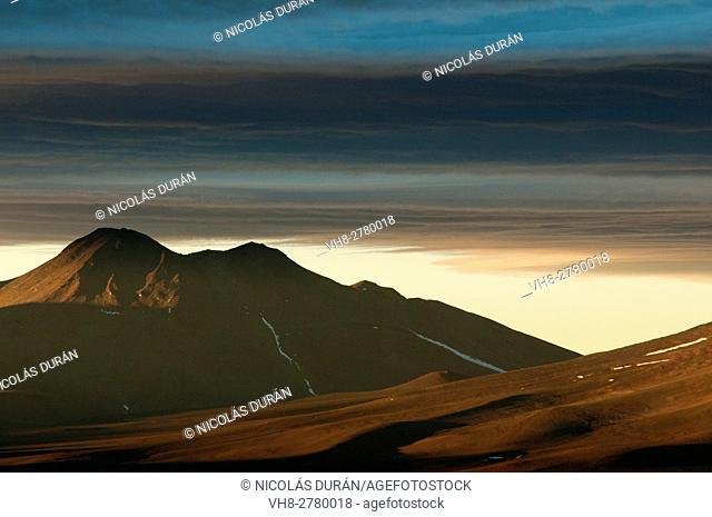 Nevado Tres Cruces National Park, Region III of Atacama, Chile, South America