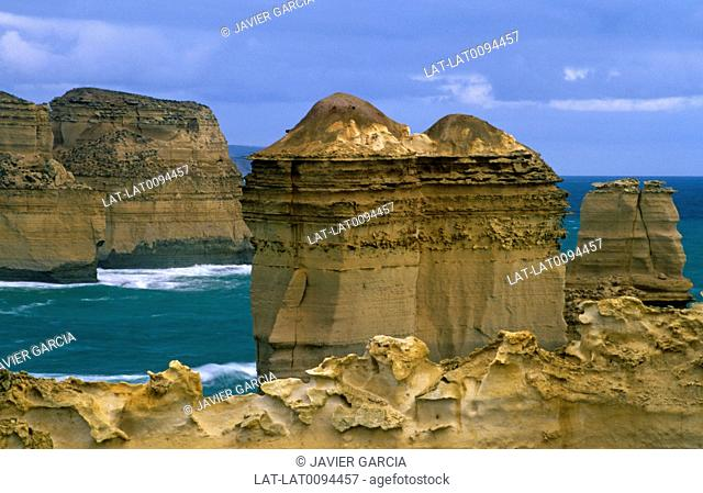 The Loch Ard Gorge is part of Port Campbell National Park,on the Great Ocean Road. It is a horseshoe harbour on the coastline