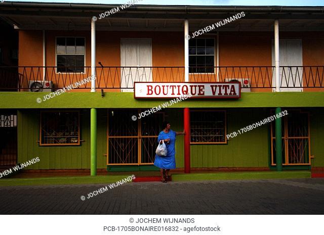 Netherlands Antilles, Bonaire, Kralendijk, Boutique Vita shop