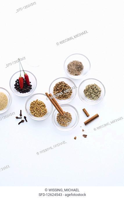 Ingredients for Indian vinadloo