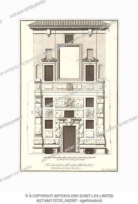 Scelta di architetture antiche e moderne della citta di Firenze opera gia data in luce, misurata, disegnata, ed intagliata dal celebre Ferdinando Ruggieri...