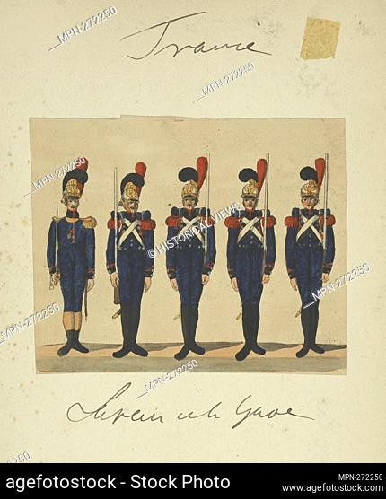 France, 1813. Vinkhuijzen, Hendrik Jacobus (Collector). The Vinkhuijzen collection of military uniforms France France, 1813