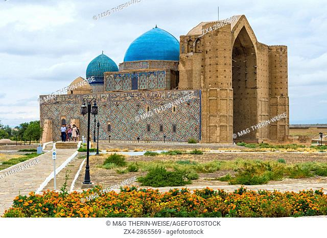Khodja Ahmet Yasawi Mausoleum, Unesco World Heritage Site, Turkistan, South region, Kazakhstan