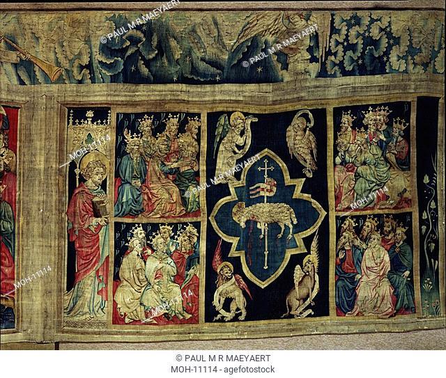 La Tenture de l'Apocalypse d'Angers, L'Agneau égorgé 1,49 x 2,57m