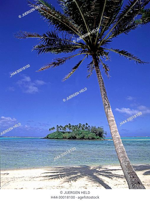 South pacific, Cook Islands,Raratonga, Cook Islands, Raratonga, Muri beach, South Pacific