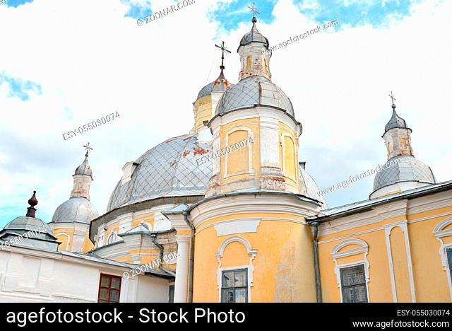 Resurrection Cathedral in Vologda Kremlin, Russia. Resurrection Cathedral - the former Cathedral in Vologda, built in the years 1772-1776 at the behest of...