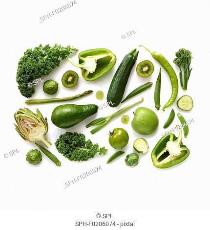 Fresh green produce