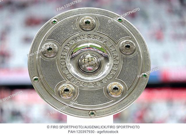 firo: Fussball, Fussball: 23.05.2015 1.Bundesliga, season 2014/2015 FC Bayern Munich - FSV FSV FSV Mainz 05, Munich, championship cup, in general, feature