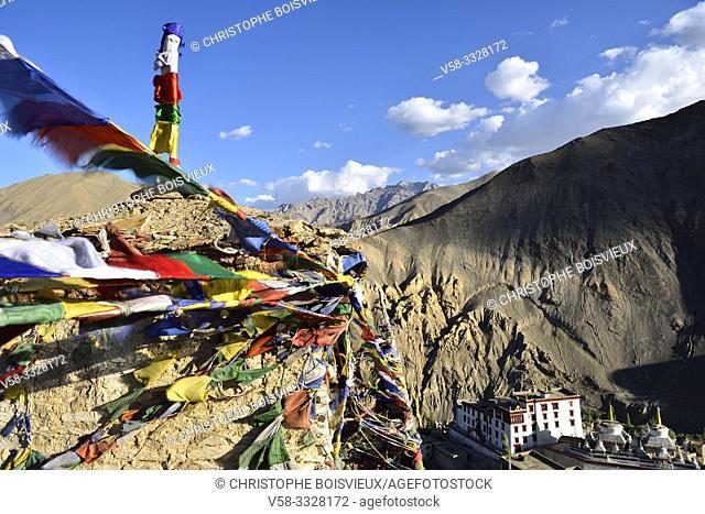 India, Jammu & Kashmir, Ladakh, Lamayuru monastery