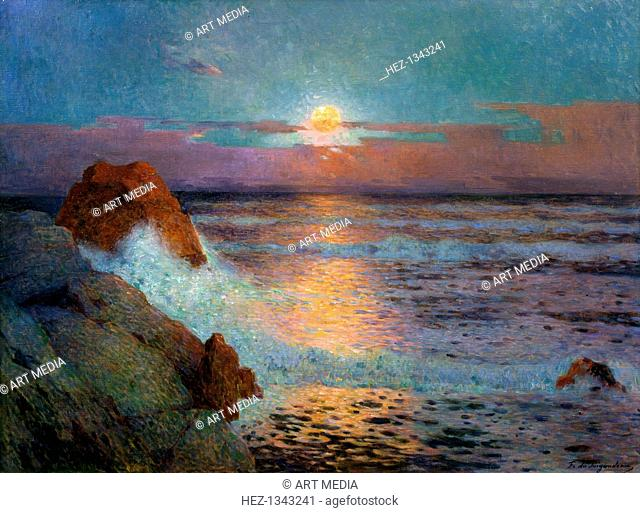 'Sun Set by the Sea', 1925