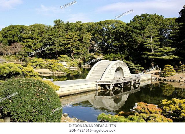 Shukkei-en japanischer Garten in Hiroshima, Japan / Shukkei-en japanese garden in Hiroshima, Japan