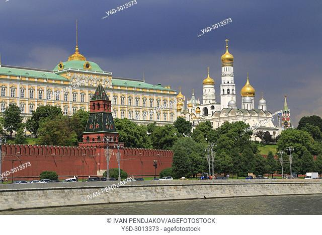 The Cremlin and Moskva River, Moscow, Russia
