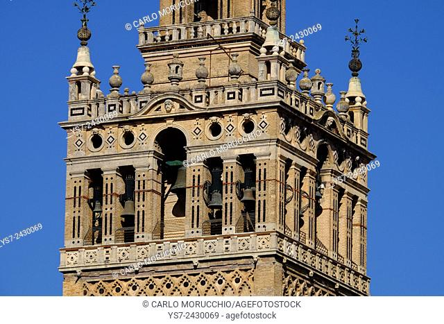 The Giralda, Seville, Andalusia, Spain