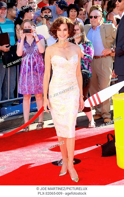 Teri Hatcher at the World Premiere of Disney's Planes. Arrivals held at El Capitan Theatre in Hollywood, CA, August 5, 2013