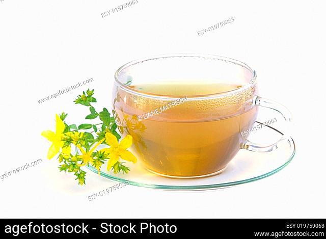 Tee Johanniskraut- tea St Johns wort 01