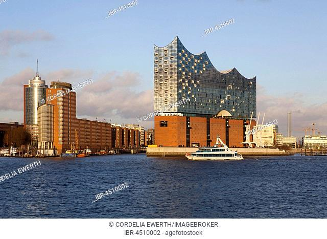 Elbe Philharmonic Hall and Kehrwiederspitze, HafenCity, Hamburg, Germany