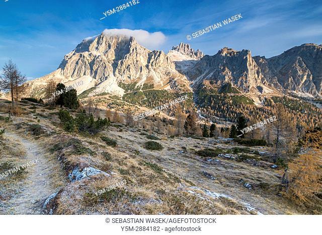 Passo Falzarego, Province of Belluno, Veneto, Italy, Europe