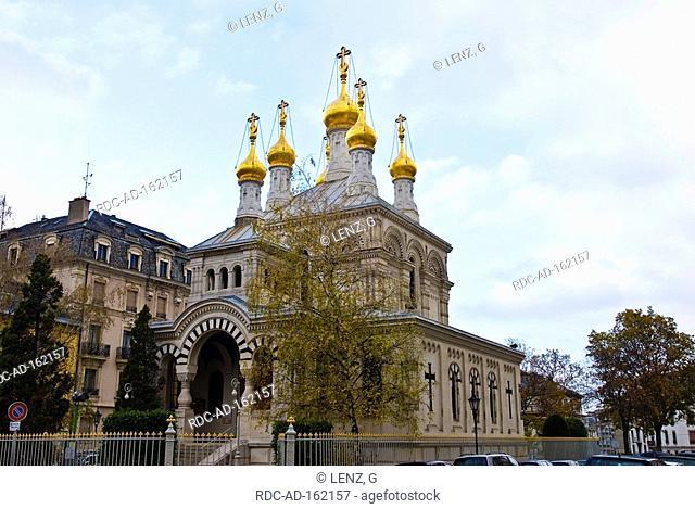 Russian orthodox church Geneva Switzerland Genf