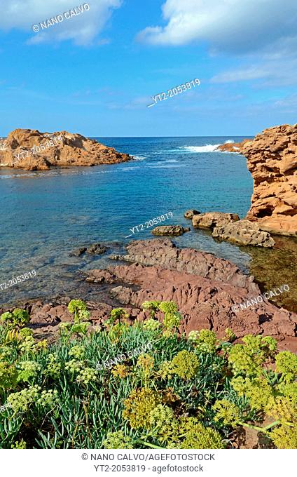 Beautiful Cala Pregonda, Es Mercadal, Menorca