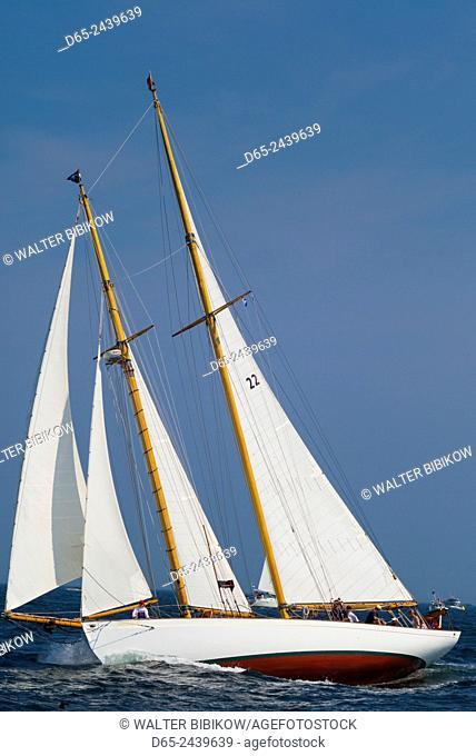 USA, Massachusetts, Cape Ann, Gloucester, America's Oldest Seaport, Annual Schooner Festival