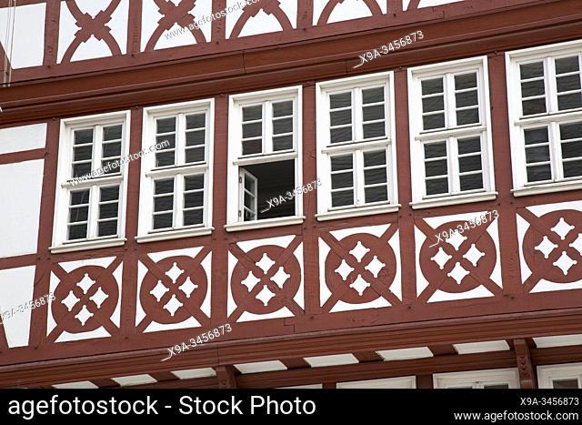 Romerberg Square Facade, Frankfurt; Germany