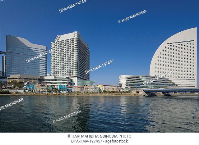 Building with amusement parks, tokyo, japan