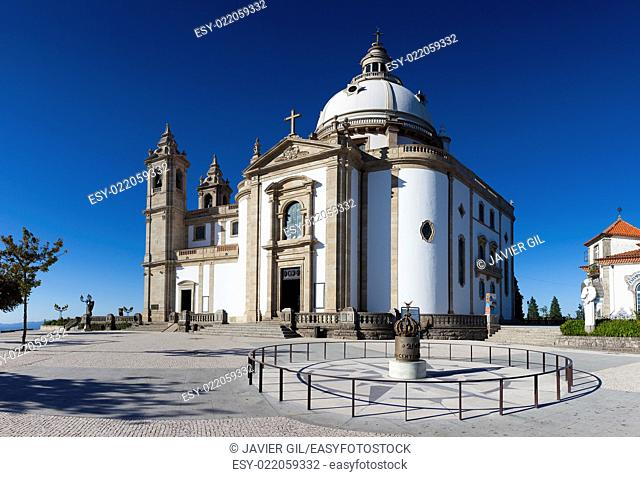 Sanctuary of Sameiro, Braga, Nord, Portugal