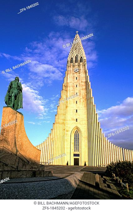 The Famous Hallgrims Church - Tallest Building in Iceland, Reykjavik
