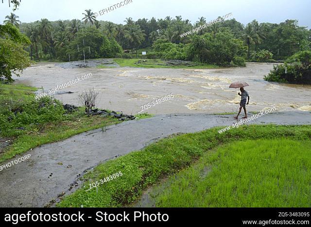 Floods in Dapoli, Konkan, Maharashtra, India