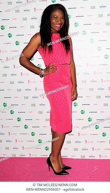 various celebrities attend Pink Ribbon Foundation launch Party Featuring: Guest Where: London, United Kingdom When: 29 Sep 2015 Credit: Tim McLees/WENN