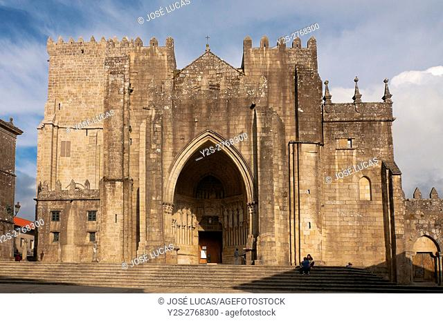 Cathedral of Santa Maria - 12th century, Tuy, Pontevedra province, Region of Galicia, Spain, Europe