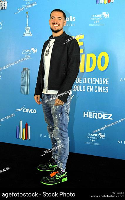 MEXICO CITY, MEXICO ñ DECEMBER 14: Juca during the press conference for the movie ëDime Cuando Tuí on December 14 2020 in Mexico City, Mexico